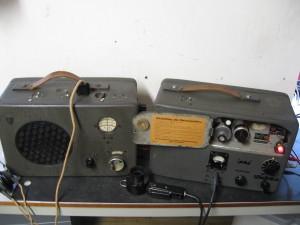 radione opstelling